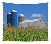 Almost Harvest Time Tapestry