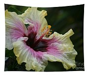 Aloha Aloalo Tropical Hibiscus Haiku Maui Hawaii Tapestry