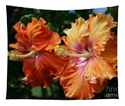 Aloha Keanae Tropical Hibiscus Tapestry