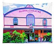 Aloha Theatre Kona Tapestry