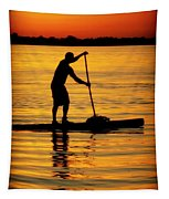 Alone With The Sun Tapestry