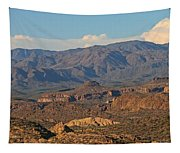 Along The Apache Trail Tapestry