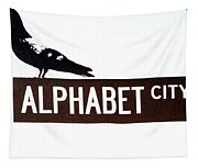 Alphabet City Tapestry