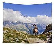 Alpine Ibex Tapestry