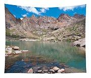 Alpine Lake Beneath Sunlight Peak Tapestry