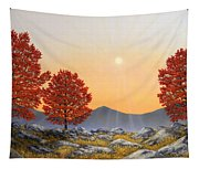 Alpine Meadow II Tapestry