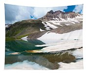Alpine Reflection In The San Juans Tapestry
