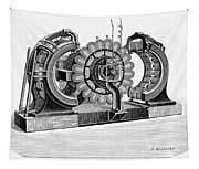 Alternating-current Dynamo Tapestry