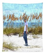 Cool On Anna Maria Island Tapestry