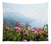 Amalfi Coast View From Ravello Italy  Tapestry