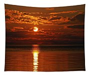 Amazing Sunset Tapestry