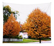 Amber Autumn Twins  Tapestry