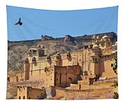 Amber Fort View - Jaipur India Tapestry