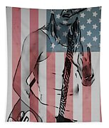 American Badass Tapestry