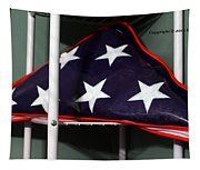American Flag Tapestry