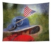 American Flag Photo Art 06 Tapestry
