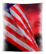 American Flag Photo Art 07 Tapestry