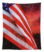 American Flag Photo Art 08 Tapestry