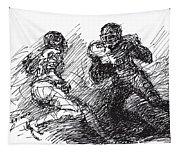 Football  Tapestry