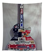 American Guitar Tapestry