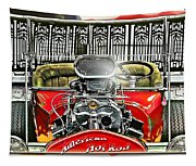 American Hot Rod Tapestry