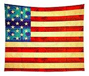 American Money Flag Tapestry