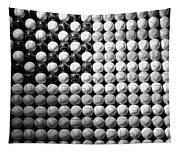 American Pastime In Black And White1 Tapestry