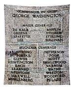 American Revolutionary War Generals Tapestry