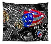 American Ride Tapestry
