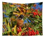 American Robin Tapestry