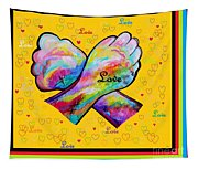 American Sign Language Love Tapestry