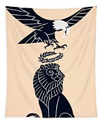 America's Tribute To Britain Tapestry