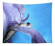 Amethyst Iris Tapestry