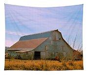 Amish Metal Barn Tapestry