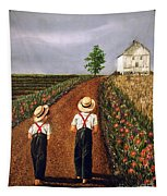 Amish Road Tapestry