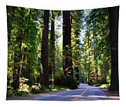 Among The Giants Tapestry