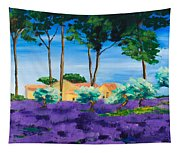Among The Lavender Tapestry