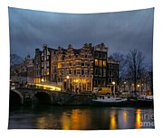 Amsterdam Corner Cafe Tapestry