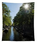 Amsterdam Spring - Green Sunny And Beautiful Tapestry
