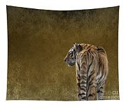 Amur Tiger Tapestry