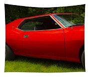 Amx Muscle Car Tapestry