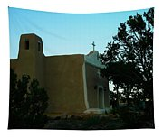 An Adobe Church In New Mexico Tapestry