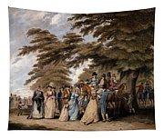 An Airing In Hyde Park, 1796 Tapestry