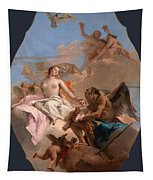 An Allegory With Venus And Time Tapestry