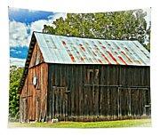 An American Barn 2 Oil Tapestry