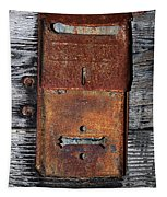 An Antique Mailbox Tapestry