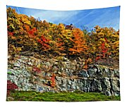 An Autumn Day Painted Tapestry