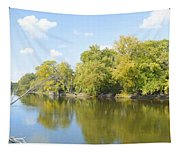 An Autumn Day Panoramic Tapestry