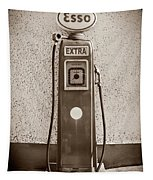 An Esso Petrol Pump From The First Half Tapestry