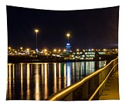 An Evening In Sioux City Tapestry